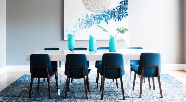 22 Peacock Blue Accent Chair Design