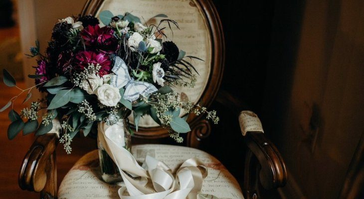 Periodic Flowers Make Beautiful Wedding Bouquets