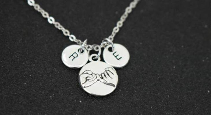 Promise necklace for her