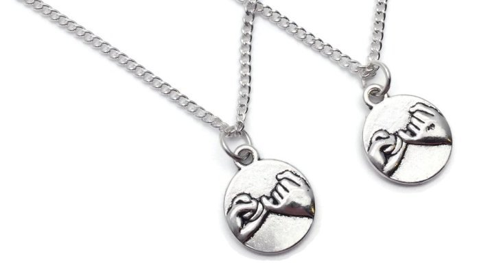 Promise necklaces for girlfriend