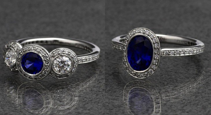 Sapphire engagement rings trend