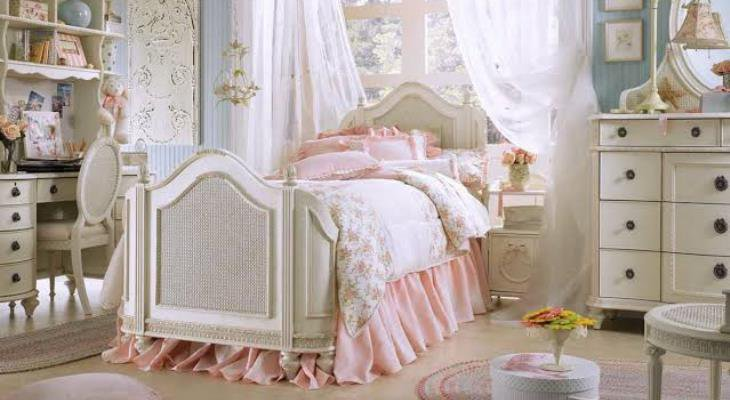 Shabby chic bedroom decoration ideas