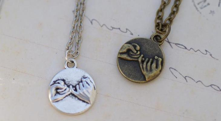 The promise necklace