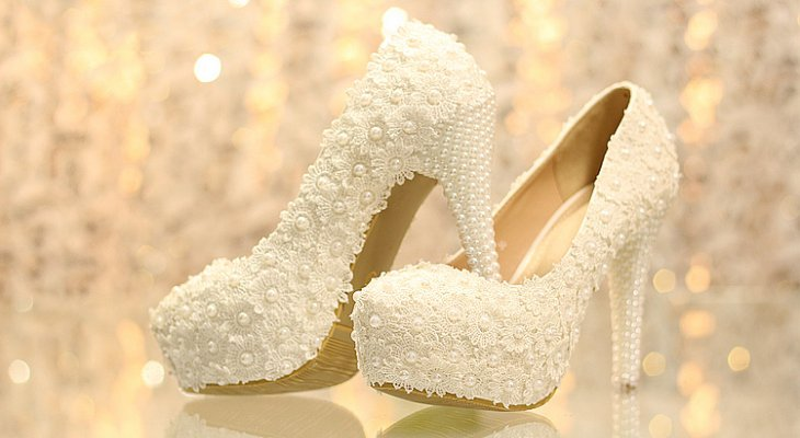 Thick-Wedding Heels