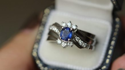 21 Unique Sapphire Engagement Rings - A Beautiful Alternative