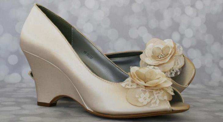 Wedge-Wedding Heels