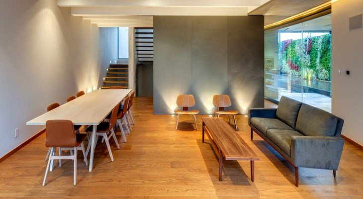 A Contemporary House: the Interior Design