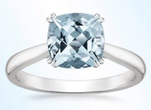 21 Aquamarine Engagement Rings for the Unconventional Bride
