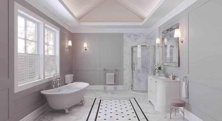 Bathroom designs neutral colors