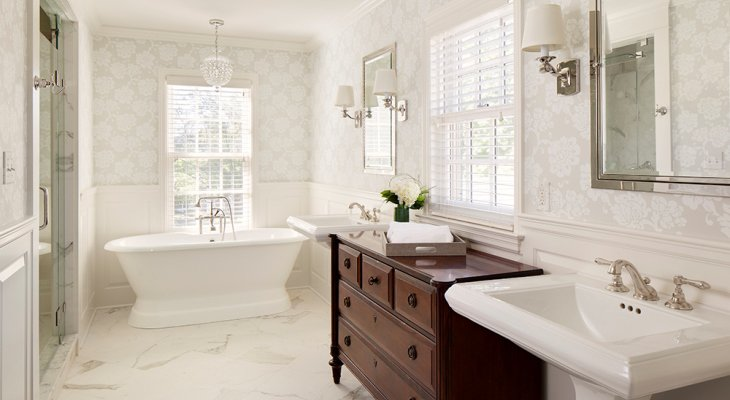 Bathroom neutral colors