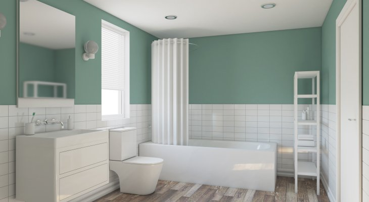 Bathroom neutral paint colors