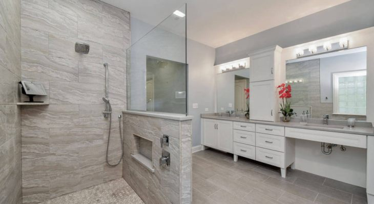 Bathroom remodeling tile