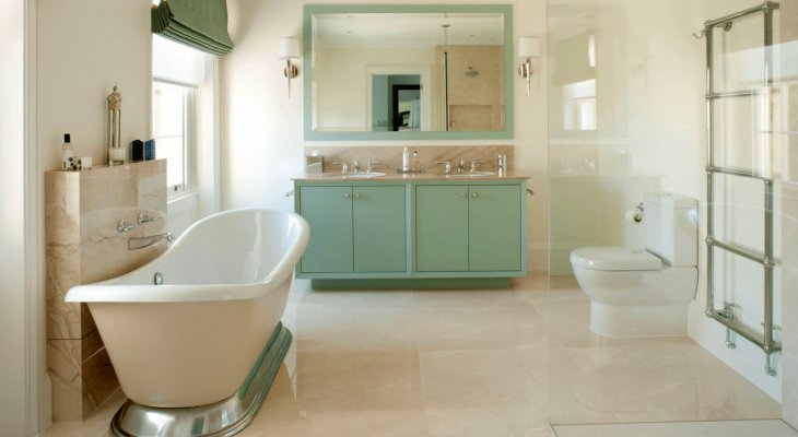 Best Bathroom Neutral Colors with Soft Touch