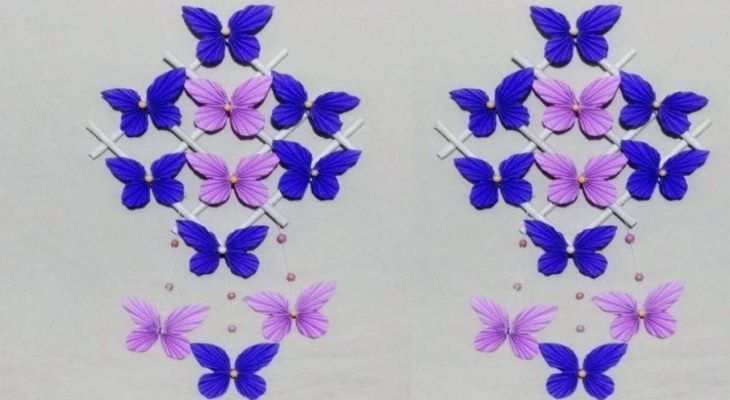 Butterfly craft ideas for wall