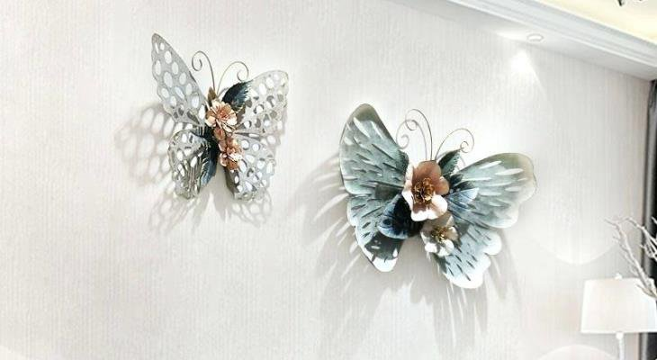 Butterfly decoration on wall ideas