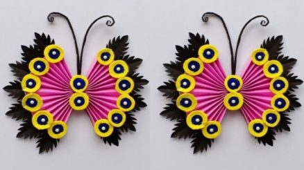 Butterfly wall hanging craft ideas