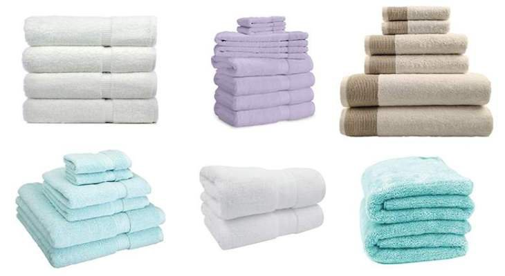 Choose Good-Quality Bath Towels color