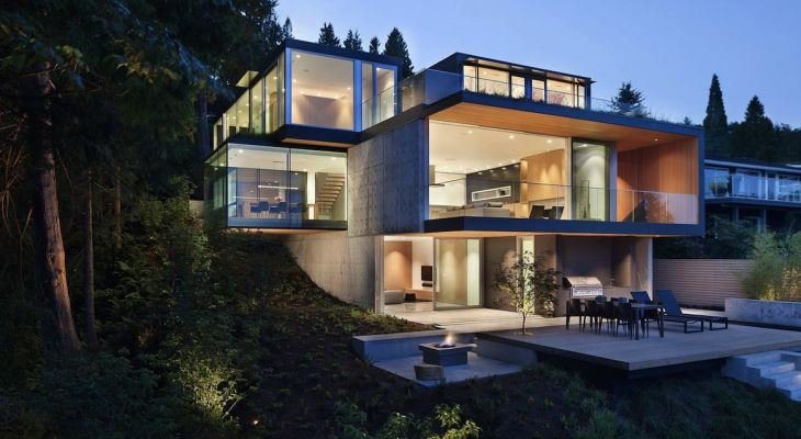 Contemporary House Maximizes