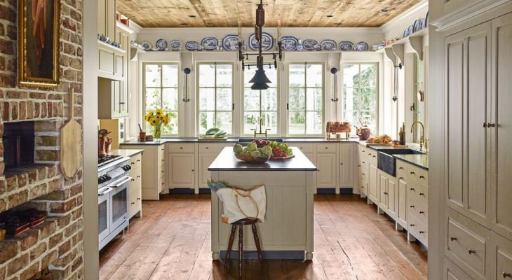 Contemporary country kitchen design
