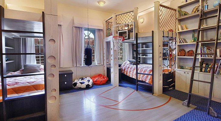 Cool kid room