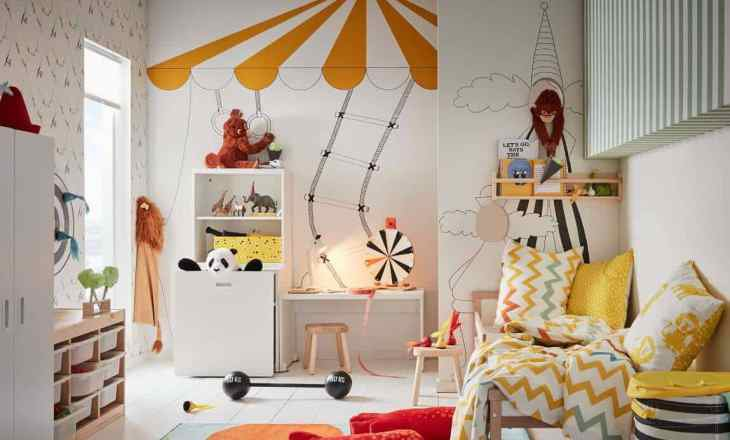 Creative kids room