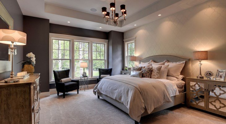 Farmhouse bedroom lighting bedroom traditional