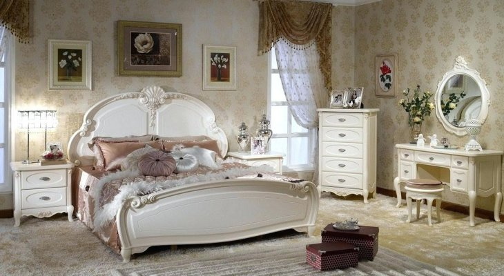 French style bedroom decor ideas