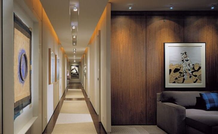 Hallway track lighting design ideas