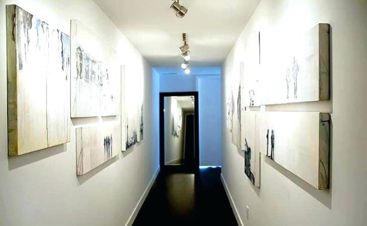 Hallway track lighting design style