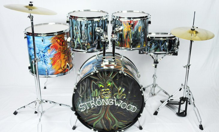 Hand Painted Drums
