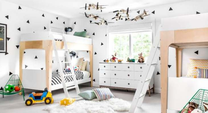 Ideas for the Coolest Kid's Room