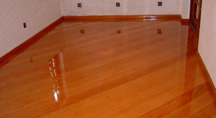 Install wood floor on concrete basement