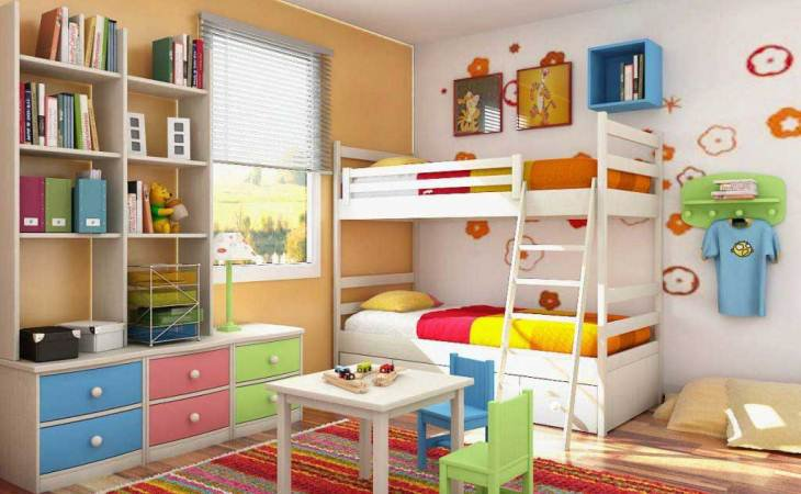 Kid room decorating ideas for small rooms