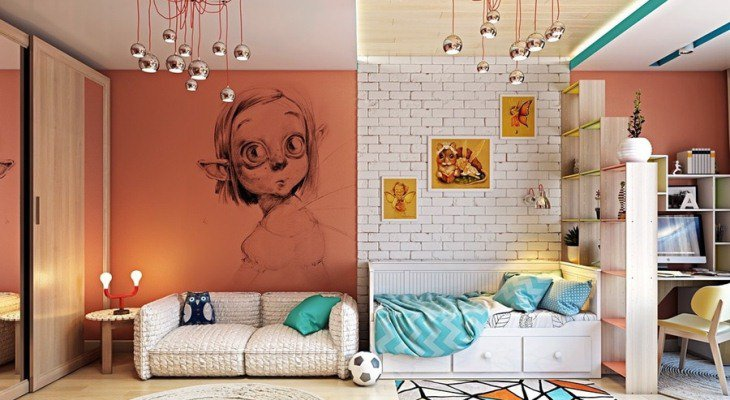 Kid room ideas artistic
