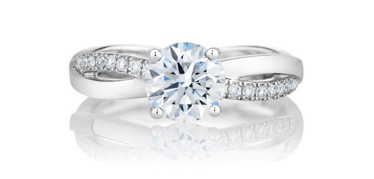 19 Best Platinum Engagement Ring Design