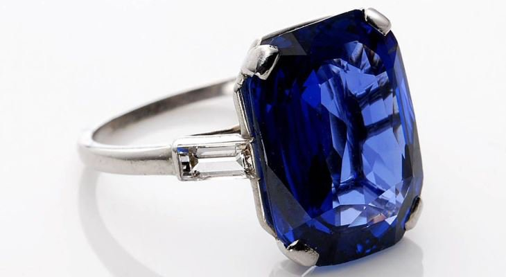 Sapphire engagement rings no diamonds