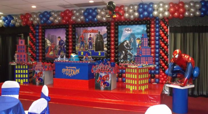 Spiderman party decorations ideas