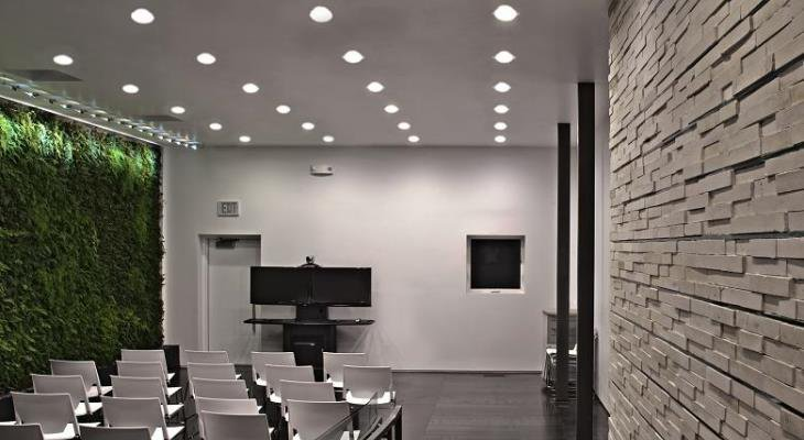 Sustainable commercial lighting