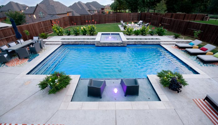 Steps of Swimming Pool Construction
