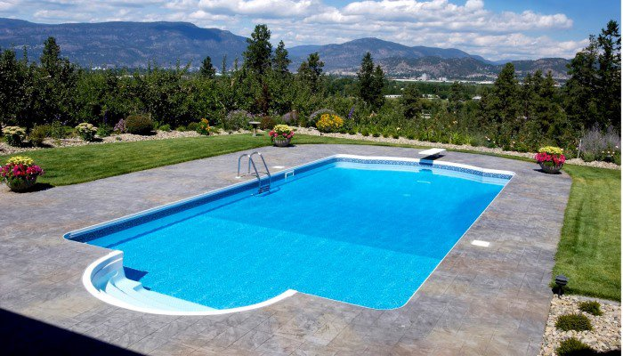Swimming pool construction plans