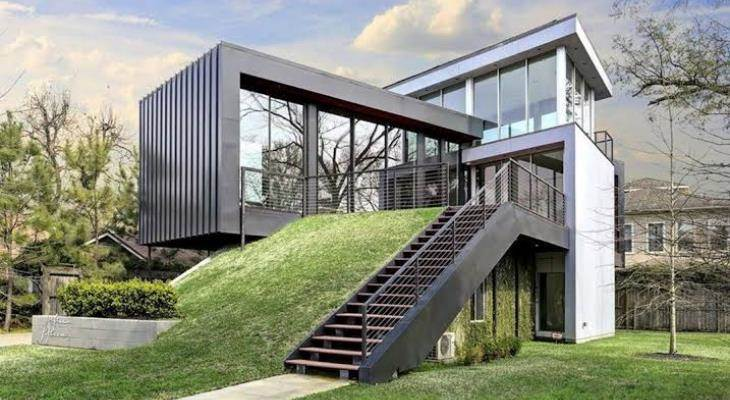 Container box house design