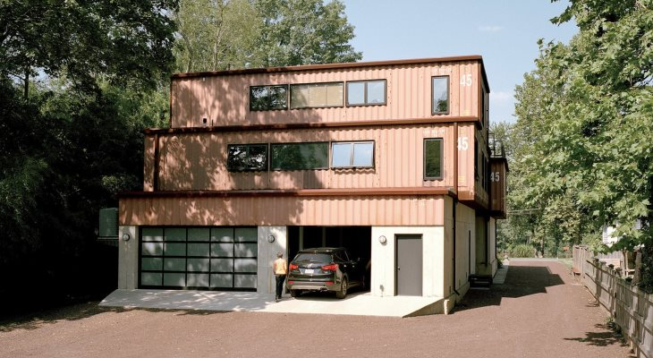 Container house design software