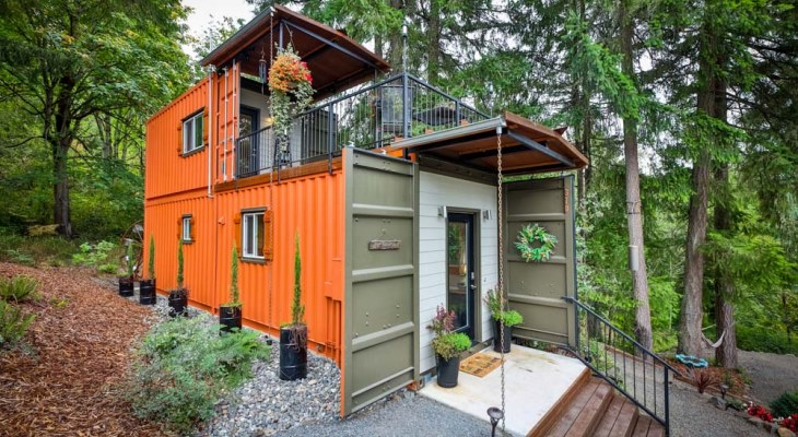 Cost to build a container home