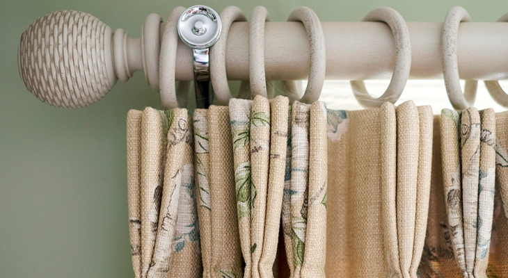 French pleat curtains images