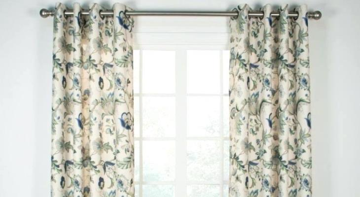 Grommet top curtain panels