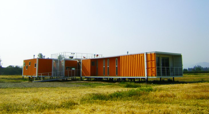How to build a modern container home