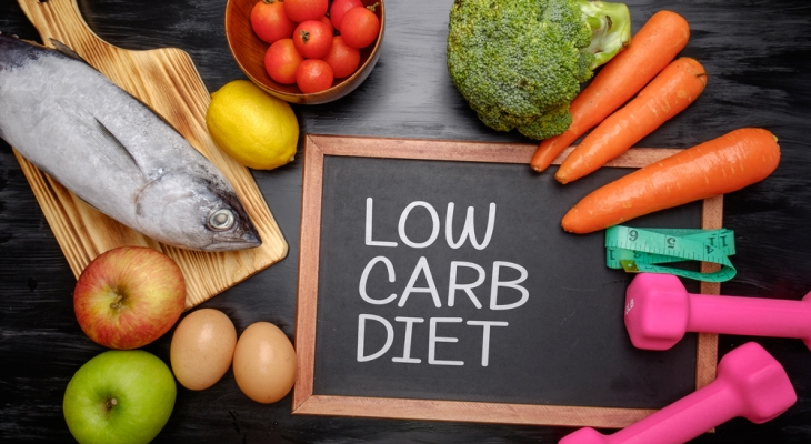 Low carb diet helps in losing weight