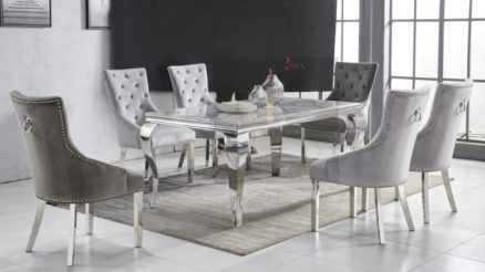 Mirrored Dining Table Designs