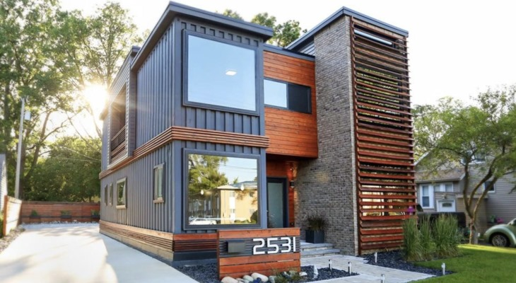 Modern container home ideas