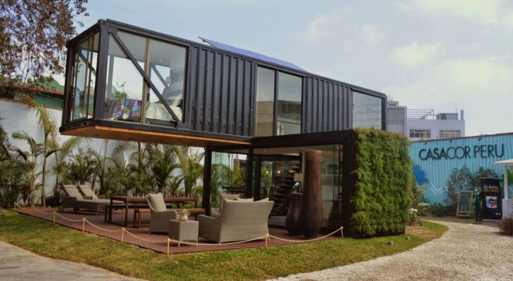 Modern container home plans